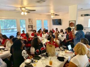 Lucilles Reclaimation Kickoff-Houston Alumnae Chapter