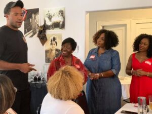 Lucilles Reclaimation Kickoff1-Houston Alumnae Chapter