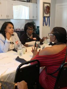 Lucilles Reclaimation Kickoff3-Houston Alumnae Chapter