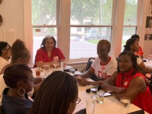 Lucilles Reclaimation Kickoff4-Houston Alumnae Chapter