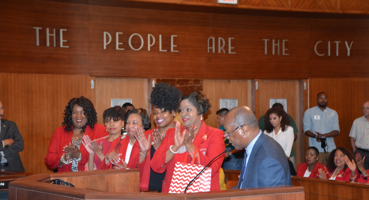 DELTA DAYS AT CITY HALL - MAYOR TURNER SALUTING HOUSTON AREA CHAPTERS OF DELTA SIGMA THETA SORORITY, INC.